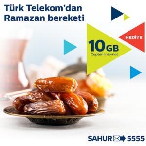 Türk telekom ramazan sahur paketi