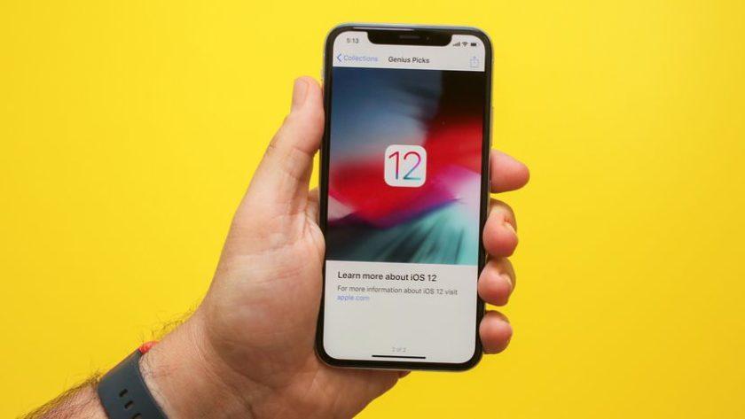 iOS 12'de H harfi sorunu ortaya çıktı