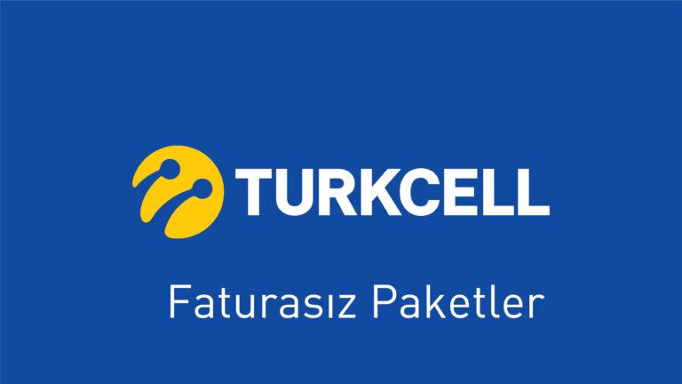 Turkcell-Faturasız Paketler