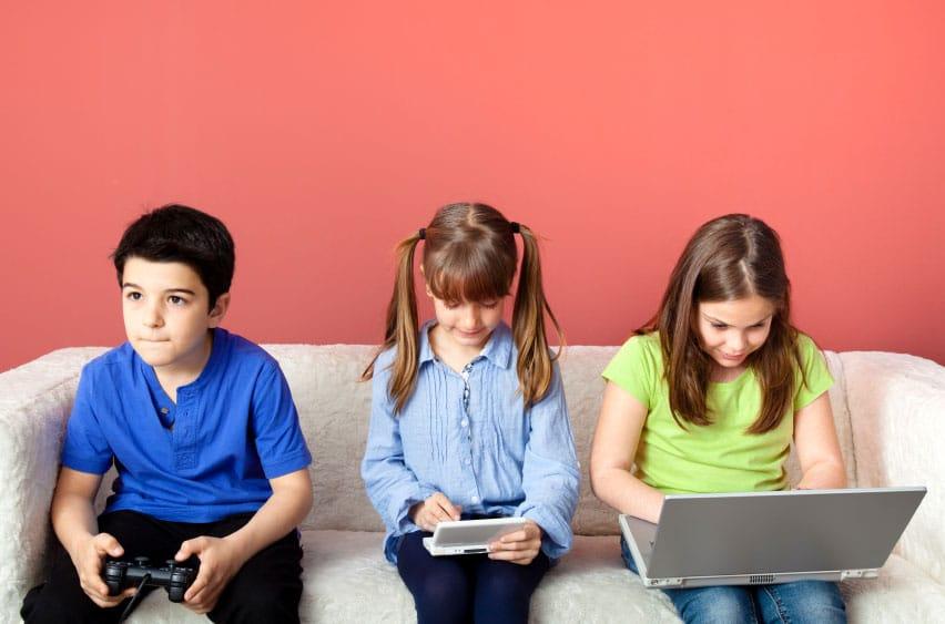 çocukların teknoloji bağımlılığı