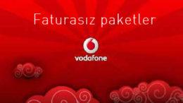 Vodafone Faturasız Paketler