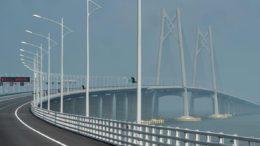 Çin, Dünya'nın En Uzun Deniz Köprüsünün Açılışını Yaptı