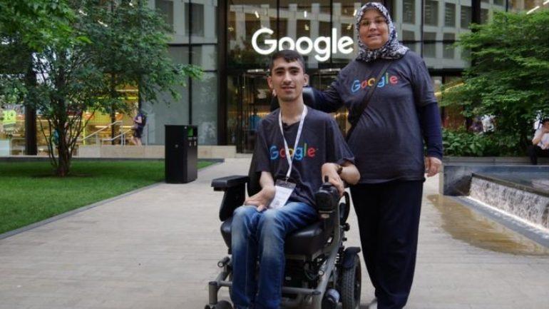 Google'dan Burs Alan Türk, Engelliler İçin Muhteşem Proje Geliştirdi