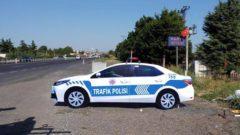 Maket Polis Araçları Trafik Kazalarını Minimuma İndiriyor
