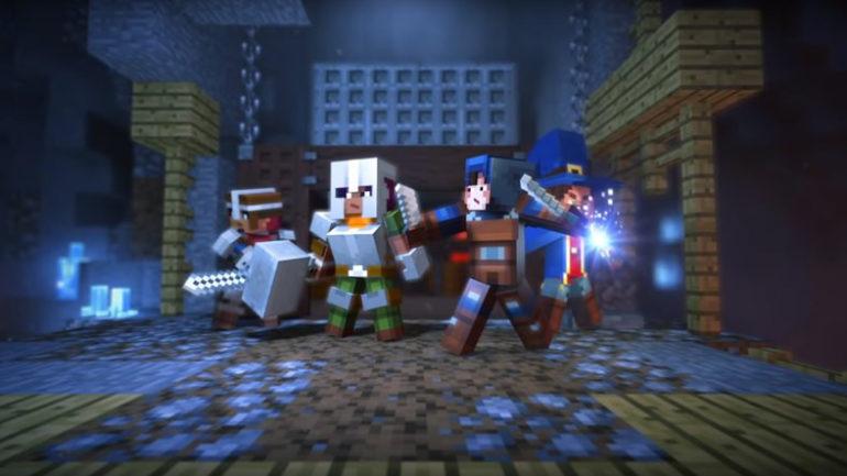 2019 Senesinde Minecraft: Dungeons Geliyor