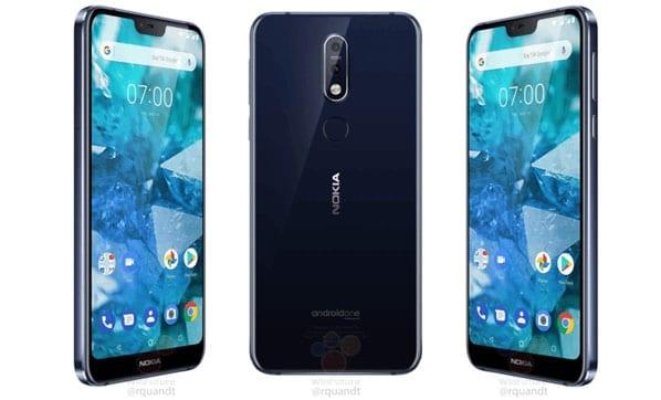 Nokia 7.1'in Tasarımı Ortaya Çıktı