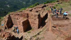 Ordu'nun Kurul Kalesi'nde Yapılan Kazılarda Tarihi Eserler Ortaya Çıktı