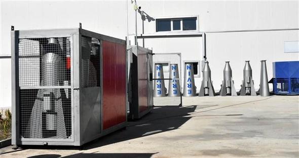Van'da Dolu Yağışını Durduran Makine İcat Edildi