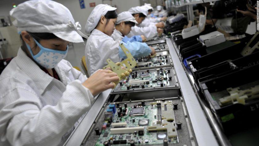 Teknoloji Şirketlerinin Çin'de Üretim Yapması