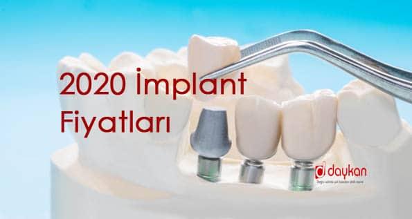 2020 implant fiyatları