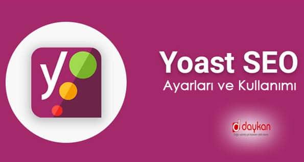 yoast seo ayarları ve kullanımı