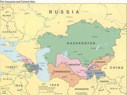 Orta Asya Ülkeleri, Orta Asya Neresidir?
